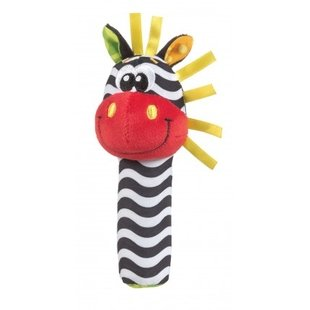 عروسک گورخر سوتی playgro کد 183439