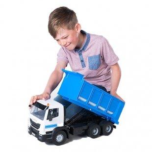 ماشین اسباب بازی کامیون فلزی آبی رنگ Tomy مدل 43055