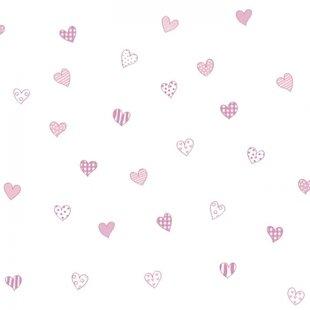 کاغذ دیواری بیمبی  طرح قلب1344