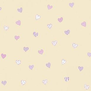 کاغذ دیواری بیمبی طرح قلب 1345