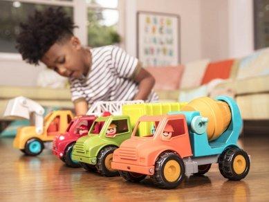 کامیون اسباب بازی بزرگ: بهترین هدیه تولد پسرانه