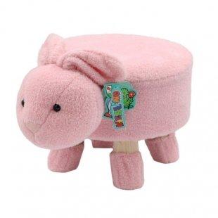 صندلی کودک طرح خرگوش صورتی Dourman مدل JW321