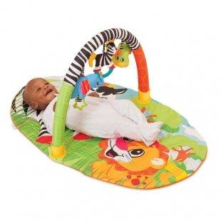 تشک بازی و پارک بازی نوزاد طرح جنگل Infantino مدل 5009