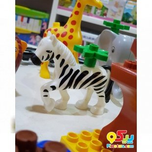 لگو موزیکال کودک طرح باغ وحش مدل 222H57