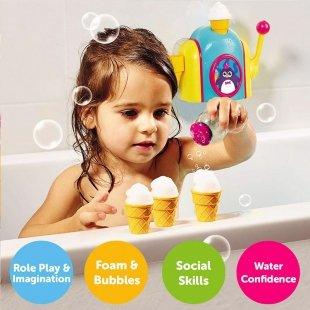 اسباب بازی حمام دستگاه بستنی ساز tomy مدل 72378