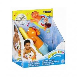 خرید اسباب بازی حمام سگ آبی موج سوار Tomy مدل 72032