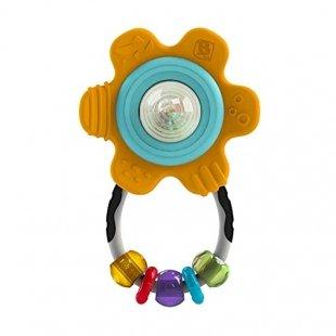 جغجغه و دندان گیر نوزاد طرح گل Infantino مدل 5134