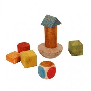اسباب بازی چوبی بازی فکری برج تعادل مدل 0092
