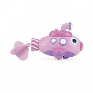 اسباب بازی حمام طرح زیردریایی صورتی مدل  id6200