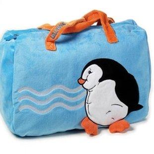 کیف پارچه ای مخمل پنگوئن Lelly