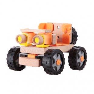 اسباب بازی ماشین آفرود چوبی Classic World مدل 3900