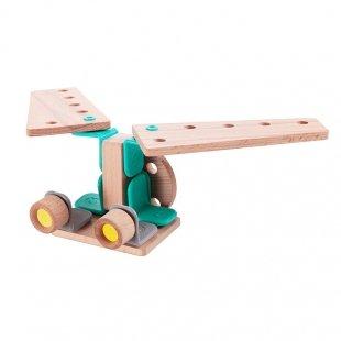 اسباب بازی چوبی هواپیما