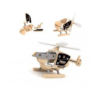 هلیکوپتر اسباب بازی چوبی