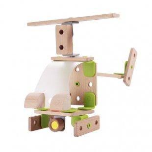 هلیکوپتر اسباب بازی چوبی Classic World مدل 3904