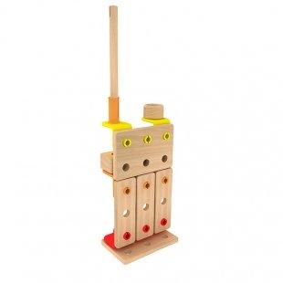 اسباب بازی ساختنی چوبی 96 تکه Classic World مدل 3908