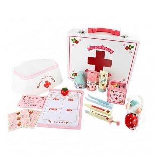 اسباب بازی چوبی ست پزشکی کودک مدل 2036