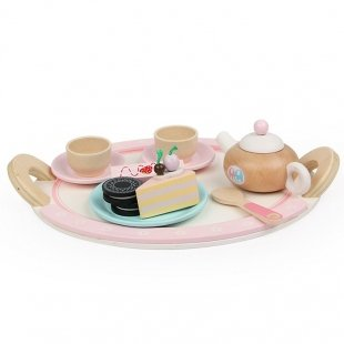 اسباب بازی چوبی ست چای خوری کودک مدل 9037