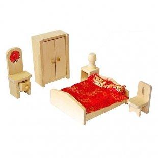 اسباب بازی چوبی ست اتاق خواب مدل 38186
