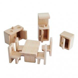 اسباب بازی چوبی ست آشپزخانه مدل 28186