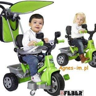 سه چرخه كودك رنگ سبز feber كد9714