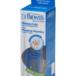 شیشه شیر240 سی سی تکی پهن Dr Browns