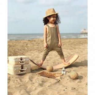 برد تعادلی کودک چوبی با لایه فوم  curvy مدل 5555