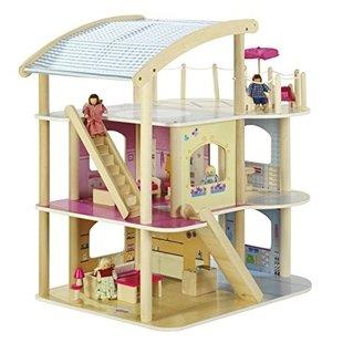 ماکت خانه عروسکی چوبی کد 9456