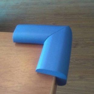 محافظ گوشه جامبو آبی بزرگ (4 عددی) ninno 13