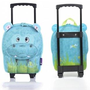چمدان چرخدار  طرح اسب آبي okiedog كد800788