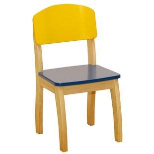 صندلی کودک چوبی robaسرمه ای  کد 50778