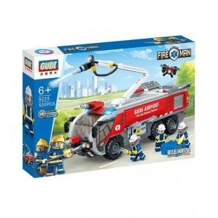 لگو ماشین آتش نشانی و مینی فیگور آتشنشان 520 تکه مدل 9225