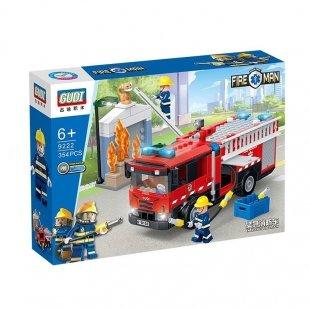 لگو ماشین آتش نشانی شهری و مینی فیگور آتشنشان 354 تکه مدل 9222
