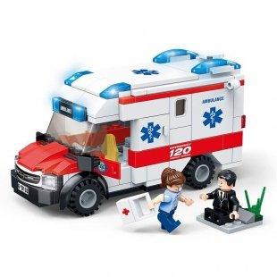 لگو آمبولانس شهری و مینی فیگور 200 تکه مدل 9220