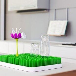 خشک کن سر شیشه کودک طرح گل boon کدb397