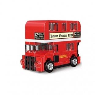 لگو اتوبوس 2 طبقه عقب کش مدل 22026