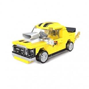 لگو ماشین مسابقه ای زرد عقب کش مدل 22022