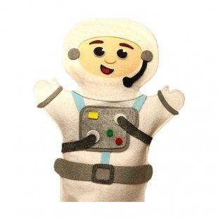 عروسک نمایشی نمدی فضانورد مدل 1251