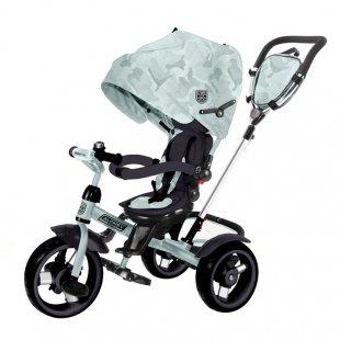 سه چرخه کودک چندکاره Kikka Boo رنگ مینت مدل Alonsy