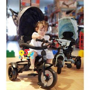 خرید سه چرخه طرح کالسکه کودک