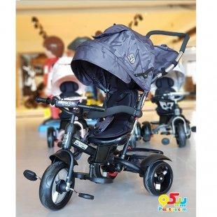 قیمت سه چرخه کودک با سایبان Kikka Boo رنگ مشکی مدل Alonsy