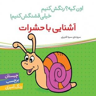 کتاب کودک آشنایی با حشرات،اون کیه رنگش کنیم