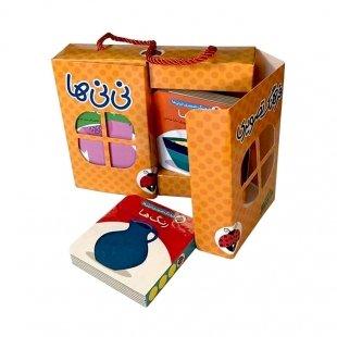 مجموعه 6 جلدی کتاب کودک فرهنگ تصویری نی نی ها رنگ نارنجی