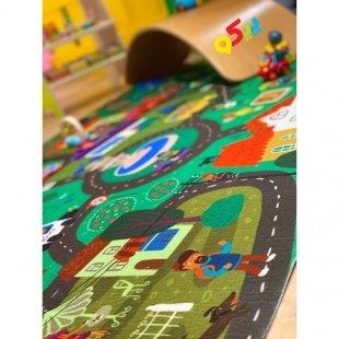 فرش ماشین بازی کودک