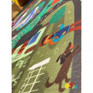 فرش ماشین بازی کودک مدل 0344