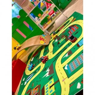 فرش ماشین بازی کودک مدل 0348
