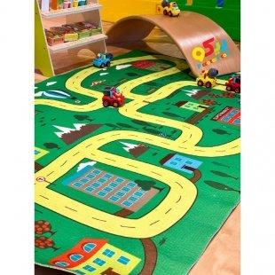 خرید فرش ماشین بازی کودک مدل 0348