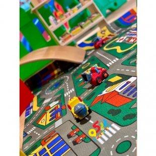فرش ماشین بازی کودک مدل 0347