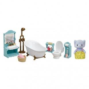 ست حمام و فیل sylvanian families 5380