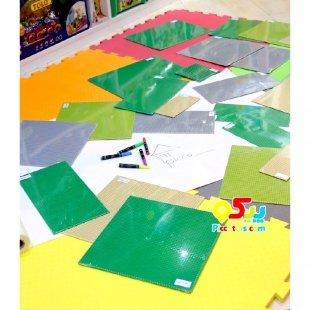 صفحه لگو کلاسیک کودک رنگ کرم ابعاد 13*25.5 مدل 8805