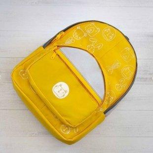 کوله پشتی کودک  رنگ زرد مدل 3200